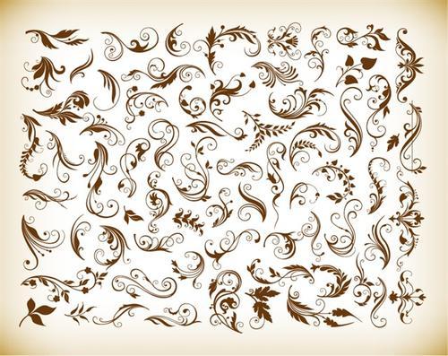 经典欧式花纹