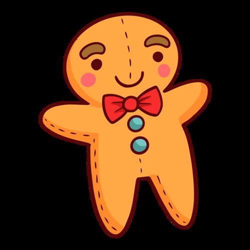 姜饼人玩偶