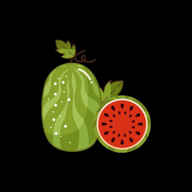 夏季水果大西瓜