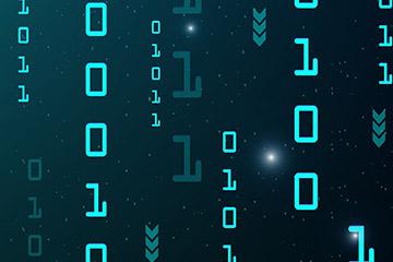 AI智能科技海报背景图
