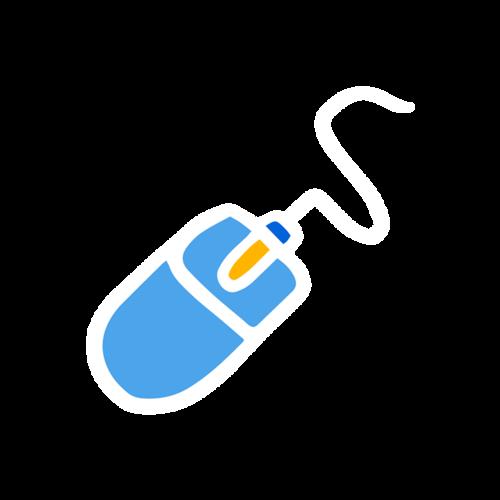鼠标logo