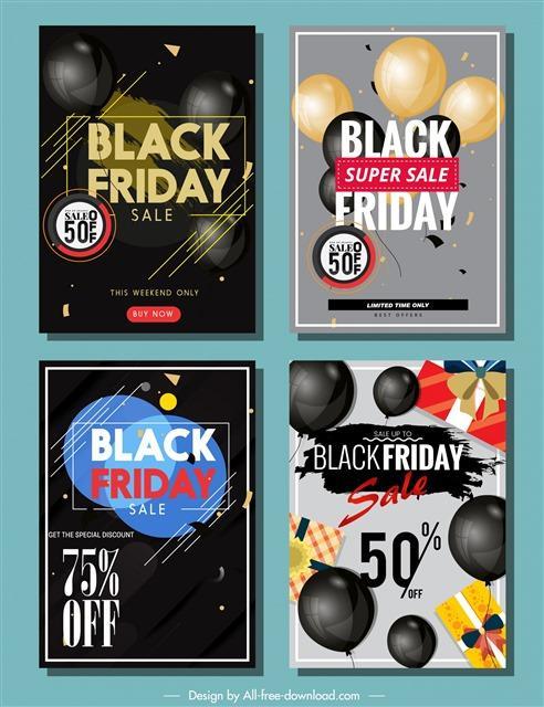 黑色星期五海报设计