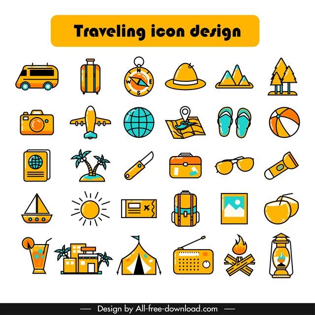 旅行小图标