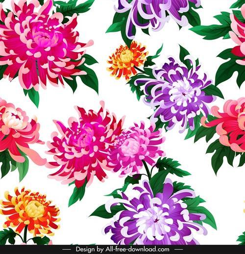 菊花装饰图案