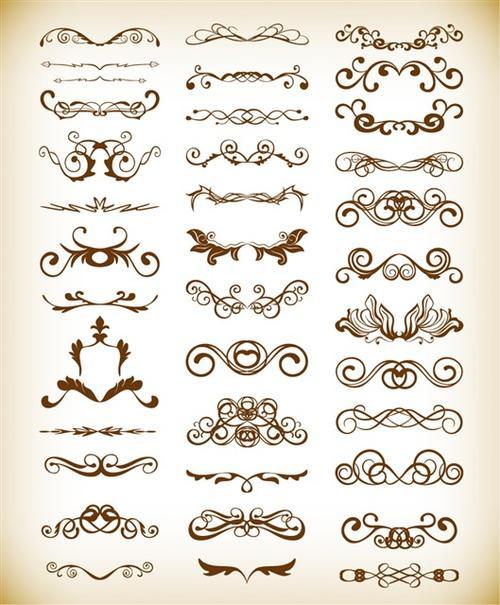 古风花纹样式