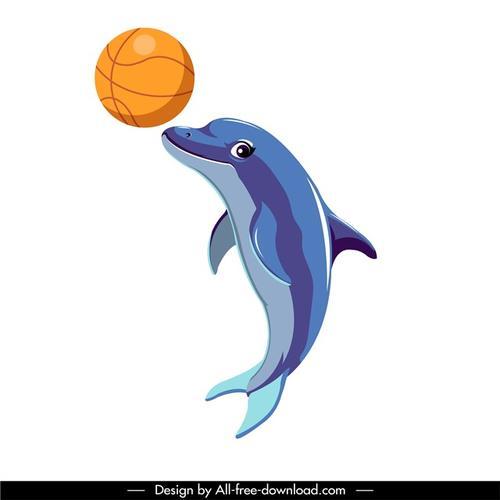 海豚玩耍图片