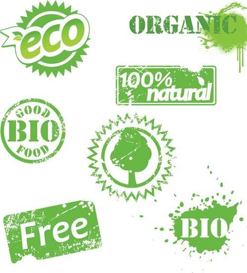 绿色生态图标