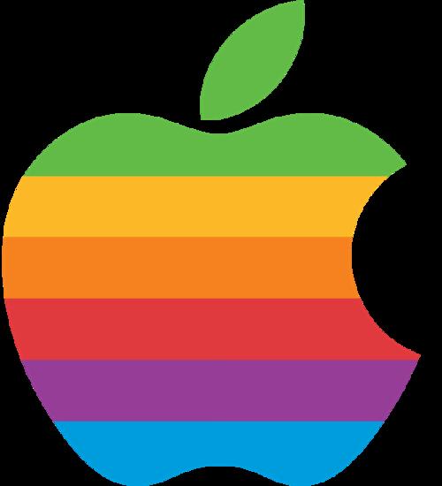 苹果公司第二代logo