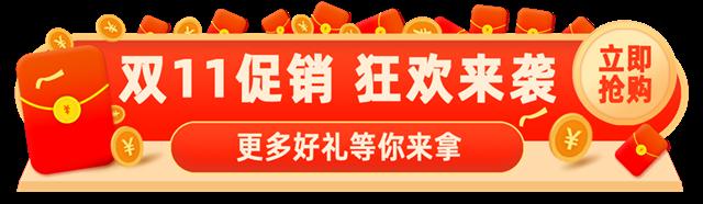 双11促销banner图