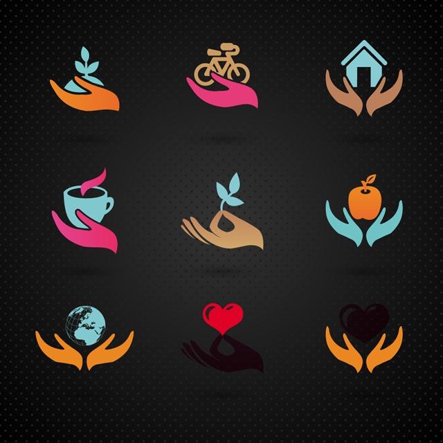 爱护环境logo