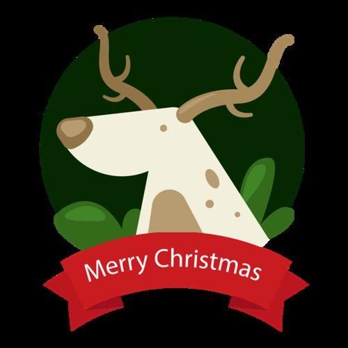 圣诞节圣诞麋鹿
