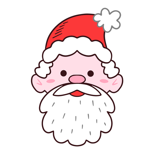 圣诞老人头像设计