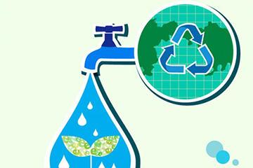 创意环保主题插画
