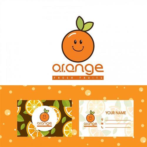 橙子logo