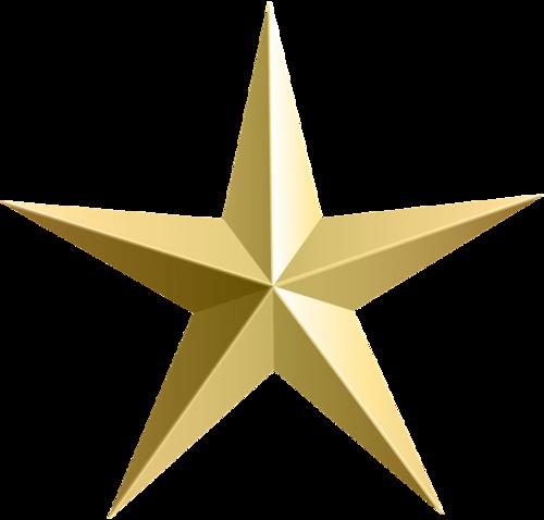 党建五角星矢量图