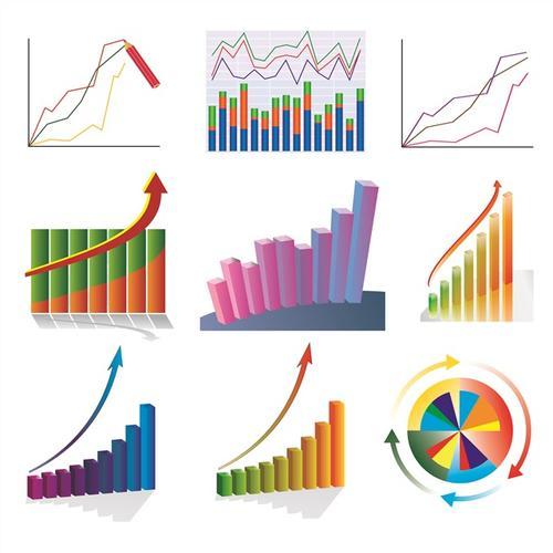 商业数据图表