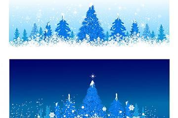 圣诞夜背景