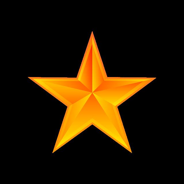 闪光党建五角星矢量图