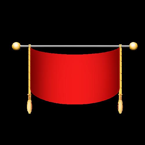 建党红旗图片