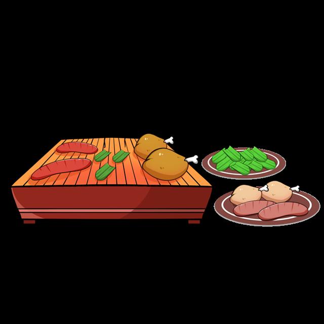 美食串串烤串图片