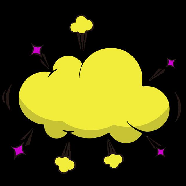 爆炸风气泡框