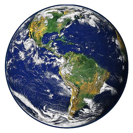 仿真写实星球地球
