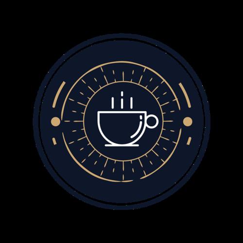 咖啡杯logo图案