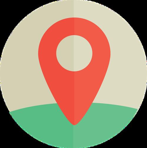 GPS定位图标设计