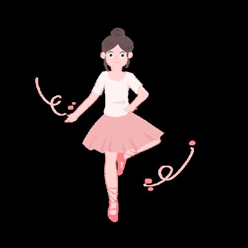跳舞女孩图片