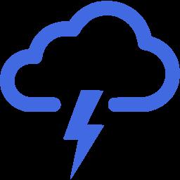 扁平化龙卷风手机图标