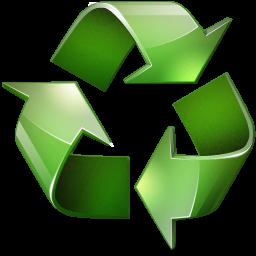 绿色可回收图片