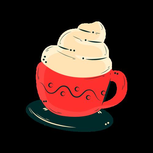 咖啡杯彩绘
