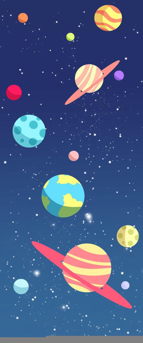 好看的宇宙背景图