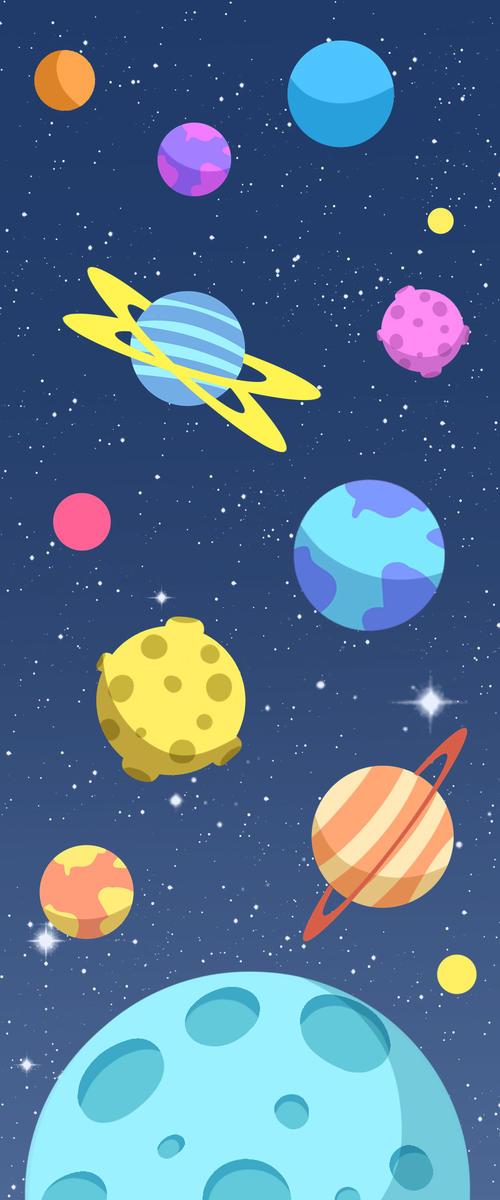 宇宙星系背景图