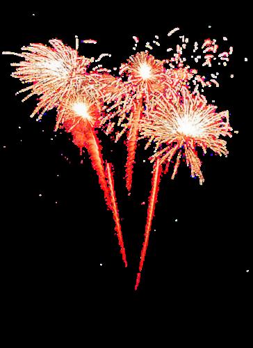 春节燃放的烟花爆竹