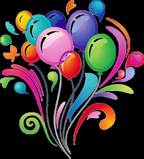 节日庆祝气球装饰