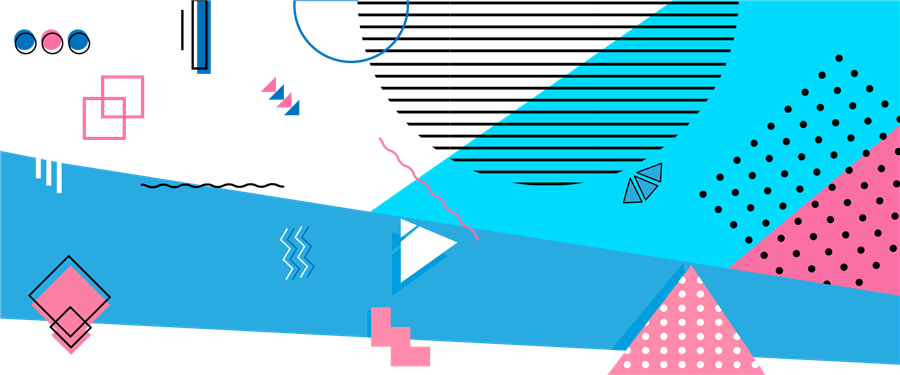 简约几何孟菲斯背景图