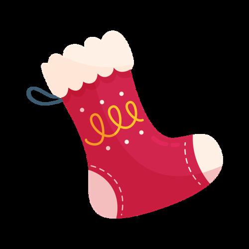 圣诞袜logo标志