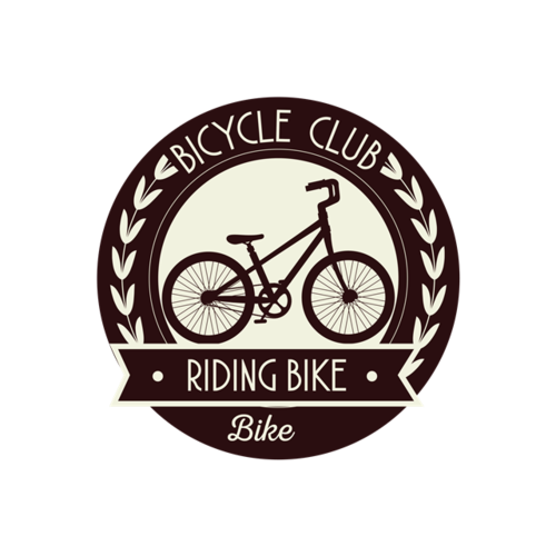 复古自行车logo