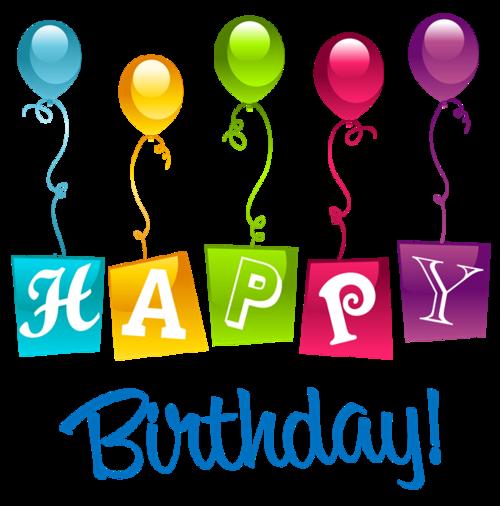 生日快乐字体装饰图案