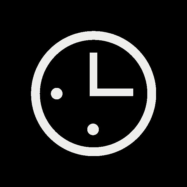 扁平化时钟图标