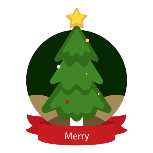 圣诞树logo