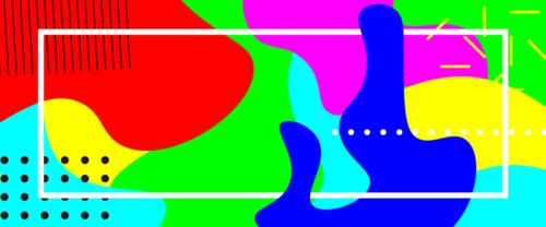 彩色背景图