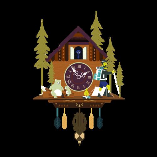 时钟图案设计