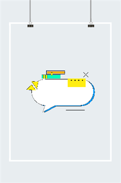 孟菲斯气泡框