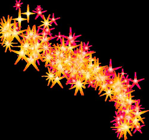 星星点点星光银河光效元素