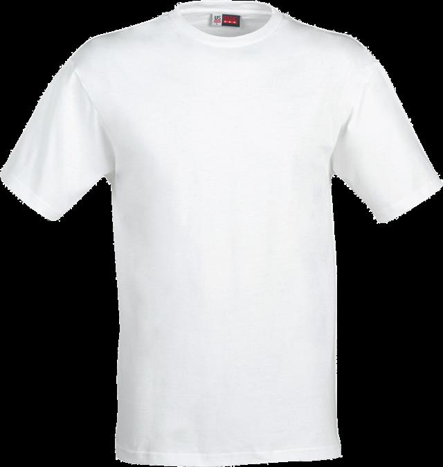 白色T恤样机模板