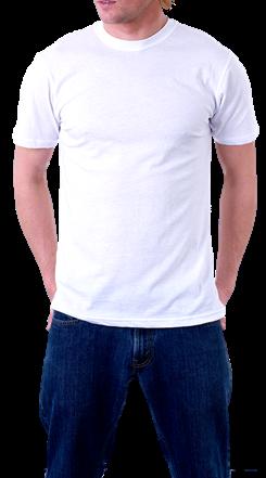 男士白色体恤