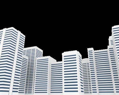 城市摩天大楼矢量背景