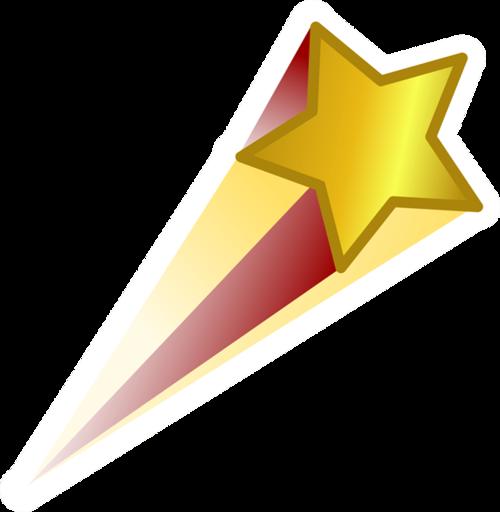 金色节日庆祝星星飘带